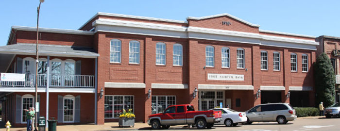 Exterior of FNB Oxford Square Branch